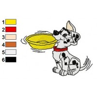 101 Dalmatians Embroidery Design 14