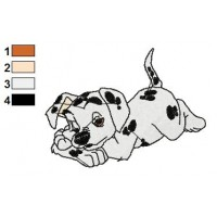 101 Dalmatians Embroidery Design 15