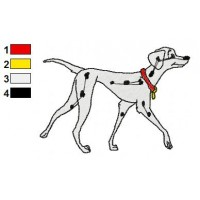 101 Dalmatians Embroidery Design 20