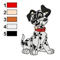 101 Dalmatians Embroidery Design 3