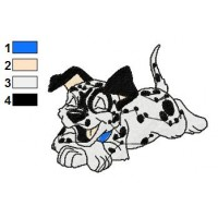 101 Dalmatians Embroidery Design 4