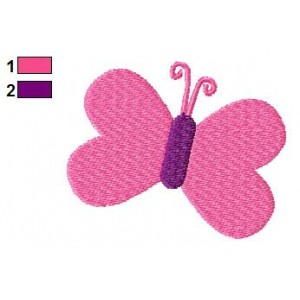 Baby Butterfly Embroidery Design