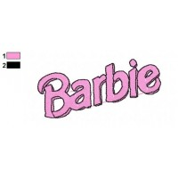 Barbie Embroidery Design 1