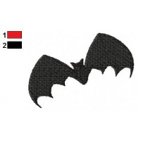 Bat Embroidery Design 11