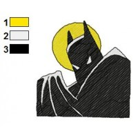 Batman Embroidery Design 1