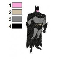 Batman Embroidery Design 2
