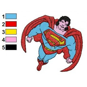 Best Superman Embroidery Design