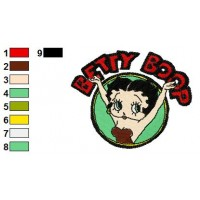 Betty Boop Disney Embroidery Designs 1