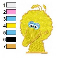 Bigbird Embroidery Design 14