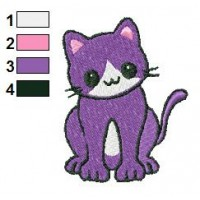 Cat Embroidery Designs Applique