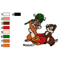 Disney Characters Embroidery Design 12