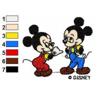 Disney Characters Embroidery Design 16