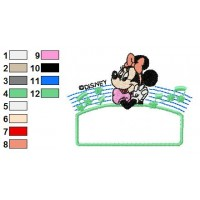 Disney Characters Embroidery Design 17