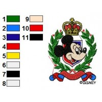 Disney Characters Embroidery Design 2