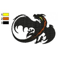 Dragon Tattoo Embroidery Design 16