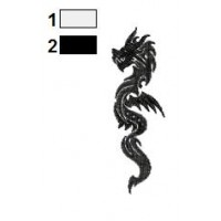 Dragon Tattoo Embroidery Design 18