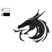Dragon Tattoo Embroidery Design 19