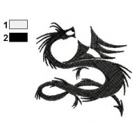 Dragon Tattoo Embroidery Design 24