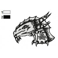 Dragon Tattoo Embroidery Design 26