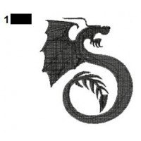 Dragon Tattoo Embroidery Design 29