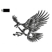 Eagle Tattoos Embroidery Designs 05