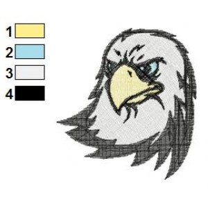 Eagle Tattoos Embroidery Designs 10