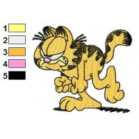 Garfield 01 Embroidery Designs 21