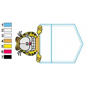 Garfield 01 Embroidery Designs 38