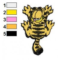 Garfield 01 Embroidery Designs 4