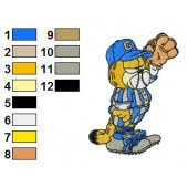 Garfield 01 Embroidery Designs 47