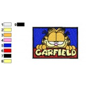 Garfield Logo Embroidery Designs