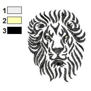 Lion Tattoo Embroidery Designs 02