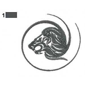 Lion Tattoo Embroidery Designs 03