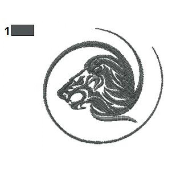 lion tattoo embroidery designs 03. Black Bedroom Furniture Sets. Home Design Ideas
