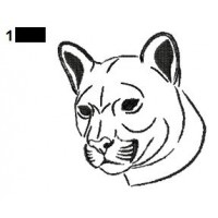 Lion Tattoo Embroidery Designs 08