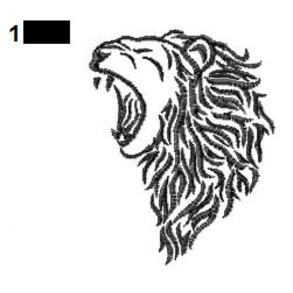 lion tattoo embroidery designs 11. Black Bedroom Furniture Sets. Home Design Ideas