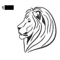 Lion Tattoo Embroidery Designs 12