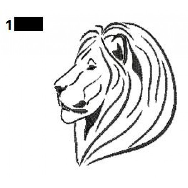 lion tattoo embroidery designs 12. Black Bedroom Furniture Sets. Home Design Ideas