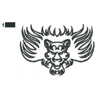 Lion Tattoo Embroidery Designs 13
