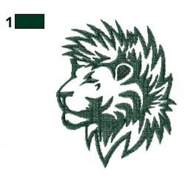 lion tattoo embroidery designs 17. Black Bedroom Furniture Sets. Home Design Ideas