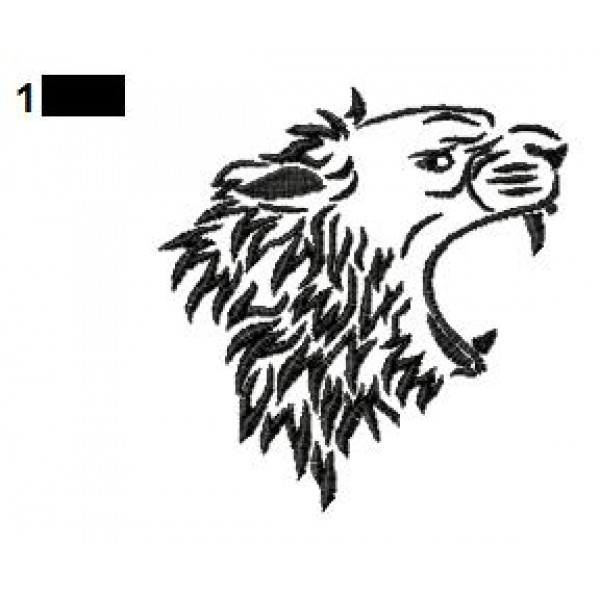 lion tattoo embroidery designs 19. Black Bedroom Furniture Sets. Home Design Ideas