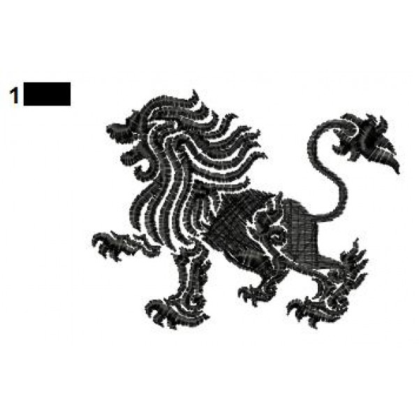 Lion Tattoo Embroidery Designs 23