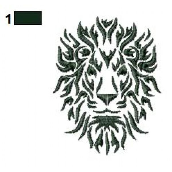 lion tattoo embroidery designs 25. Black Bedroom Furniture Sets. Home Design Ideas