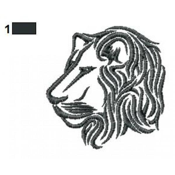 lion tattoo embroidery designs 26. Black Bedroom Furniture Sets. Home Design Ideas