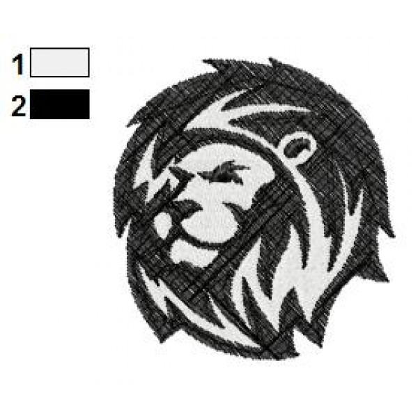 lion tattoo embroidery designs 27. Black Bedroom Furniture Sets. Home Design Ideas