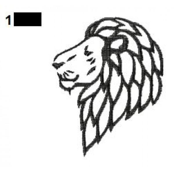 lion tattoo embroidery designs 31. Black Bedroom Furniture Sets. Home Design Ideas