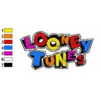 Looney Tunes Embroidery Design 1