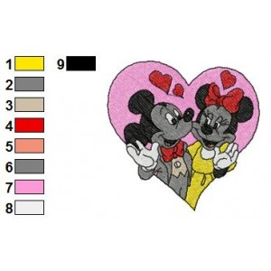 Mickey And Friends Embroidery 21