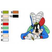 Mickey And Pals Embroidery 10
