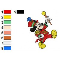 Mickey Mouse Embroidery 9